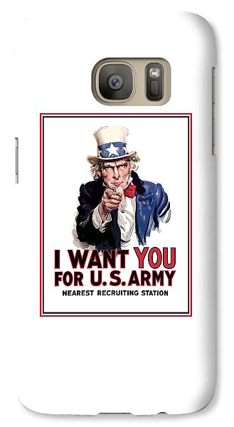 Uncle Sam -- I Want You Galaxy S7 Case
