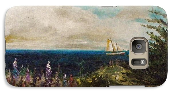 Galaxy Case featuring the painting Under Full Sail by John Williams