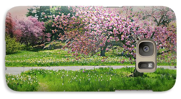 Galaxy Case featuring the photograph Under The Cherry Tree by Diana Angstadt