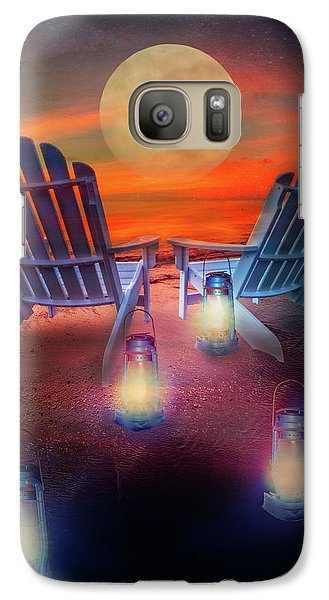 Galaxy Case featuring the photograph Under The Moon by Debra and Dave Vanderlaan