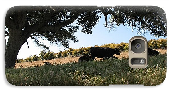 Galaxy Case featuring the photograph Under The Oak Tree by Jan Cipolla