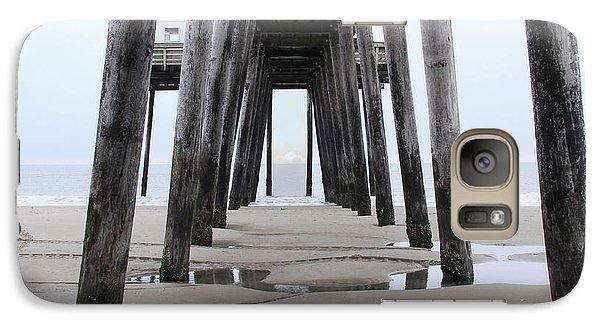 Galaxy Case featuring the digital art Under The Pier by Sharon Batdorf