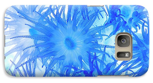 Galaxy Case featuring the photograph Under The Sea Colorful Watercolor Art #14 by Debra and Dave Vanderlaan