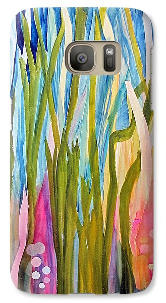 Galaxy Case featuring the painting Under Water by Sandy McIntire