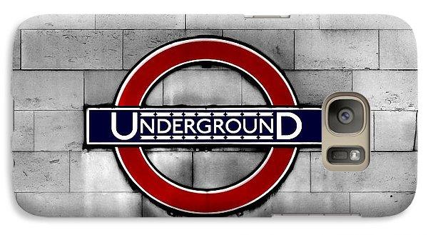 Underground Galaxy S7 Case by Mark Rogan