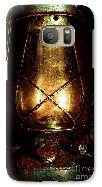 Underground Mining Lamp  Galaxy S7 Case