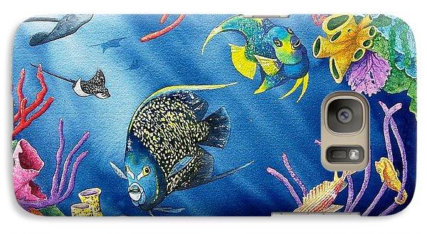 Undersea Garden Galaxy S7 Case by Gale Cochran-Smith