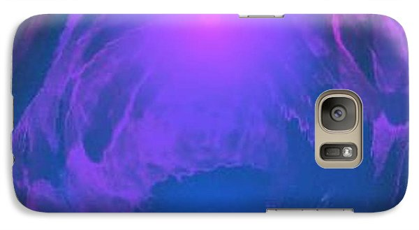Galaxy Case featuring the digital art Underwater Kingdom by Dr Loifer Vladimir
