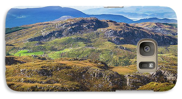 Galaxy Case featuring the photograph Undulating Landscape In Kerry In Ireland by Semmick Photo