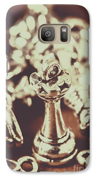 Galaxy Case featuring the photograph Unfallen Tower Of The Chess Game by Jorgo Photography - Wall Art Gallery