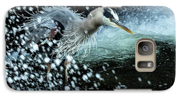 Galaxy Case featuring the photograph Unfazed Focus by Everet Regal