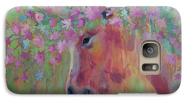 Uni Corn Flower II Galaxy S7 Case by Kimberly Santini