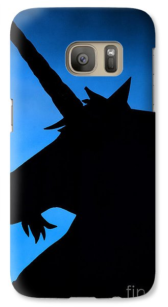 Galaxy Case featuring the photograph Unicorn by Craig B