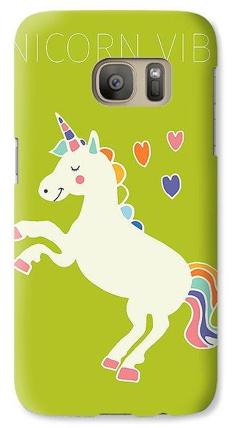 Unicorn Vibes Galaxy S7 Case