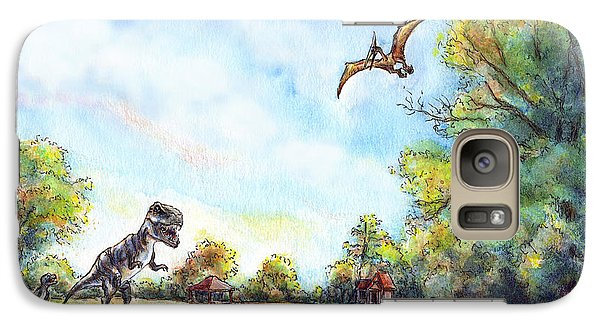 Uninvited Picnic Guests Galaxy S7 Case