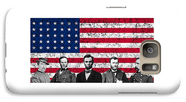 Union Heroes And The American Flag Galaxy S7 Case
