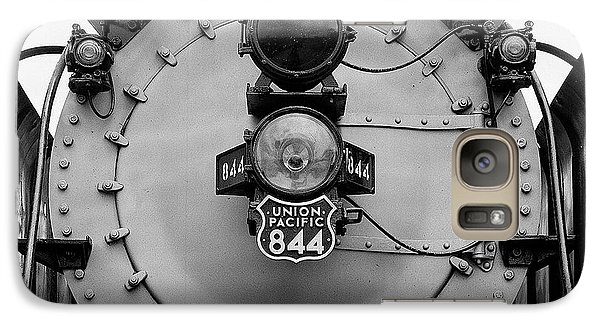Galaxy Case featuring the photograph Union Pacific 844 by Bud Simpson