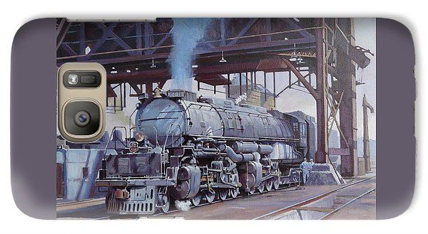 Galaxy Case featuring the painting Union Pacific Big Boy by Mike  Jeffries