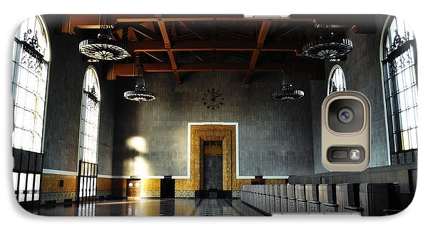 Galaxy Case featuring the photograph Union Station Los Angeles by Kyle Hanson