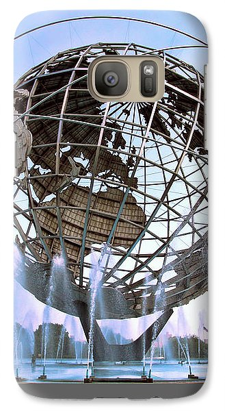 Unisphere With Fountains Galaxy S7 Case