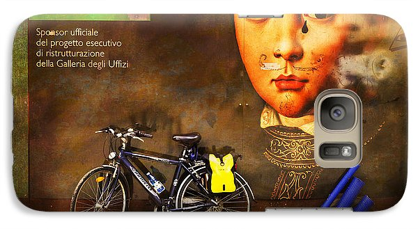 Galaxy Case featuring the photograph United Colors Bicycle by Craig J Satterlee