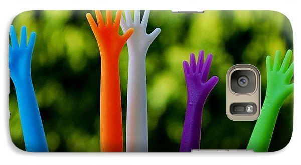 Galaxy Case featuring the photograph United  Colours by Marija Djedovic