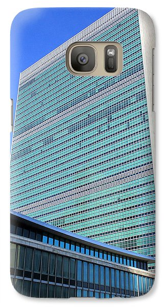 Galaxy Case featuring the photograph United Nations 1 by Randall Weidner