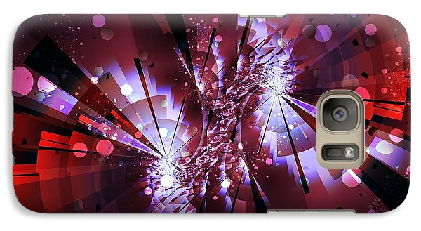 Galaxy Case featuring the digital art Universal by Michelle H