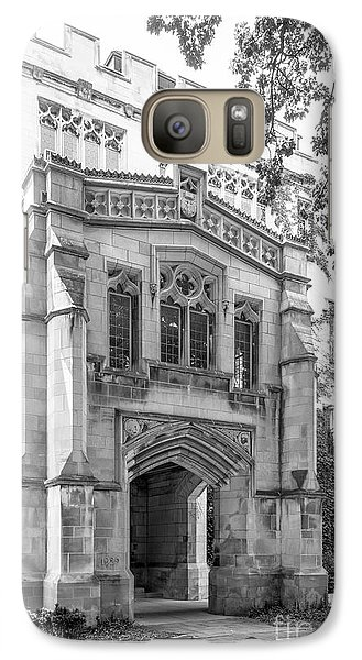 University Of Chicago Social Sciences Galaxy S7 Case by University Icons