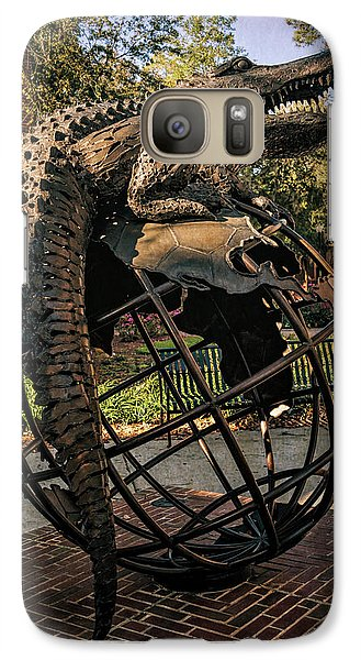 Galaxy Case featuring the photograph University Of Florida Sculpture by Joan Carroll