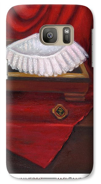 Galaxy Case featuring the painting University Of Maryland School Of Nursing by Marlyn Boyd
