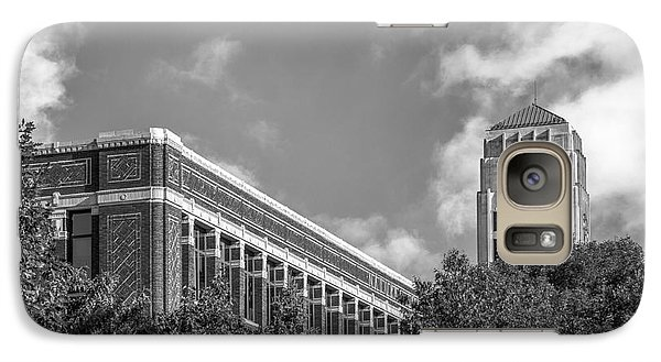 University Of Michigan Natural Sciences Building With Burton Tower Galaxy S7 Case by University Icons