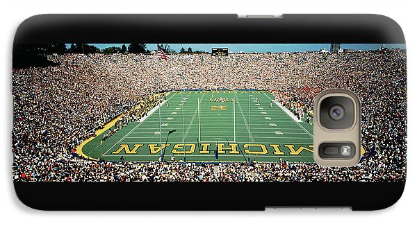 University Of Michigan Stadium, Ann Galaxy S7 Case by Panoramic Images