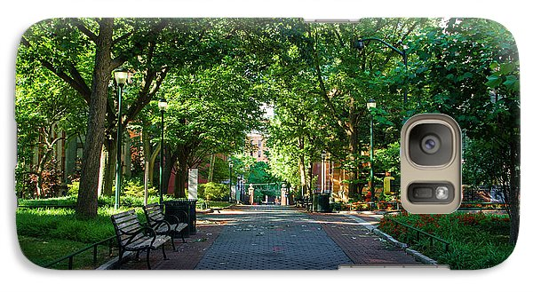 Galaxy Case featuring the photograph University Of Pennsylvania Campus - Philadelphia by Bill Cannon