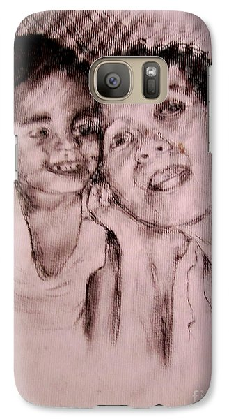 Galaxy Case featuring the drawing Unlimited Love 2 by Jason Sentuf