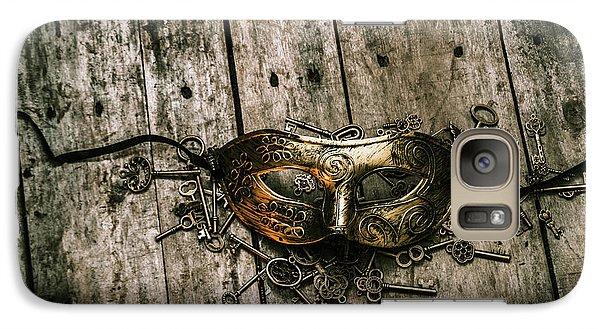 Unlocking A Golden Mystery Galaxy Case by Jorgo Photography - Wall Art Gallery