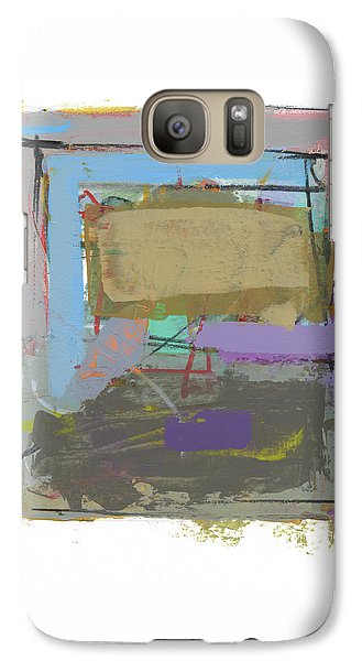Galaxy Case featuring the painting Untitled  by Chris N Rohrbach