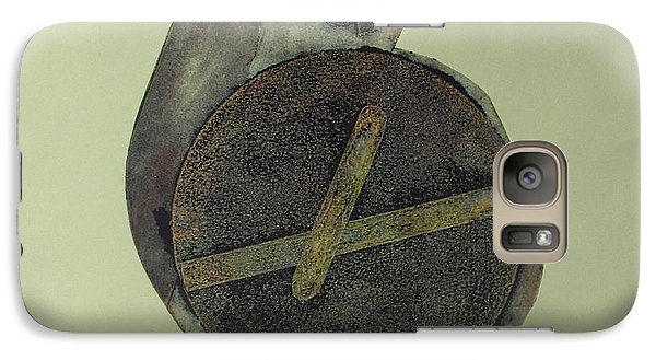 Galaxy Case featuring the mixed media Untitled by Erika Chamberlin