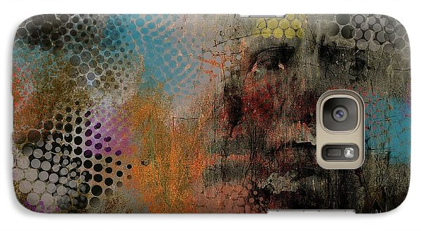 Galaxy Case featuring the painting Untitled June 6 2015 by Jim Vance