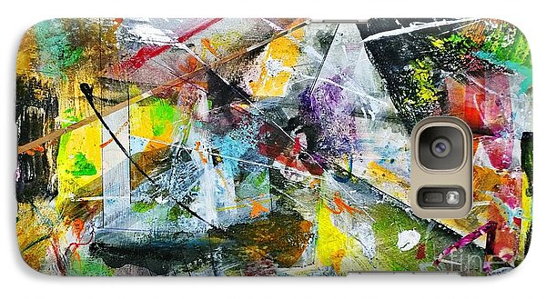 Galaxy Case featuring the painting Untitled by Robert Anderson