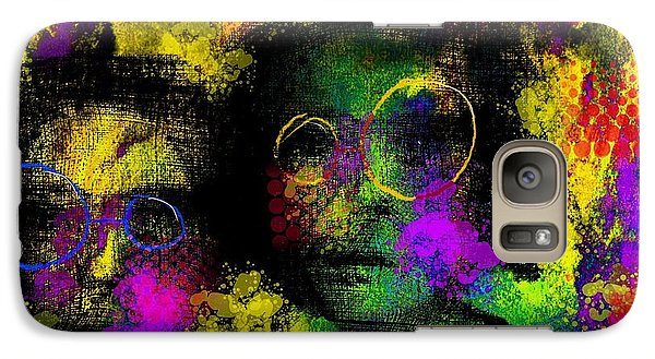 Galaxy Case featuring the digital art Untitled2 06june2015 by Jim Vance