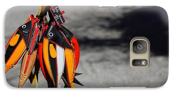 Galaxy Case featuring the photograph Unusual Catch by Richard Patmore