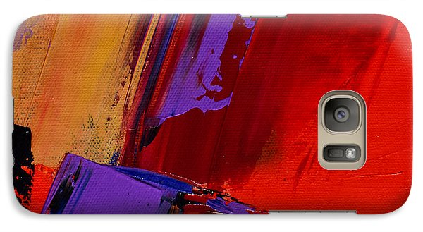 Galaxy Case featuring the painting Up And Down - Art By Elise Palmigiani by Elise Palmigiani