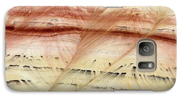 Galaxy Case featuring the photograph Up Close Painted Hills by Greg Nyquist