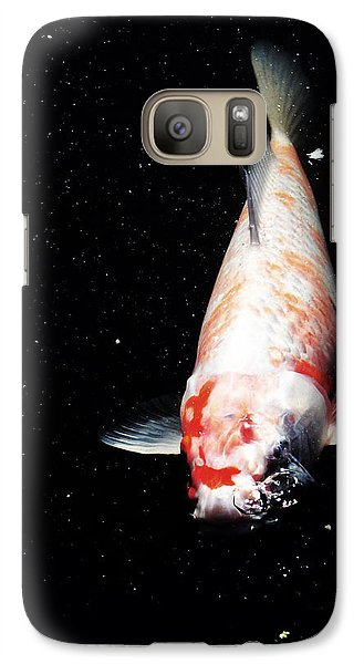 Galaxy Case featuring the photograph Up For Air by Deborah  Crew-Johnson