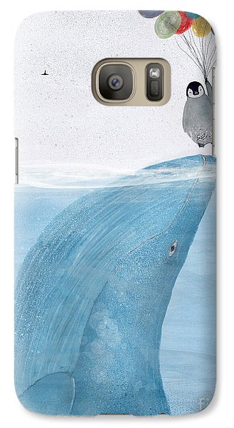 Galaxy Case featuring the painting Uplifting by Bri B
