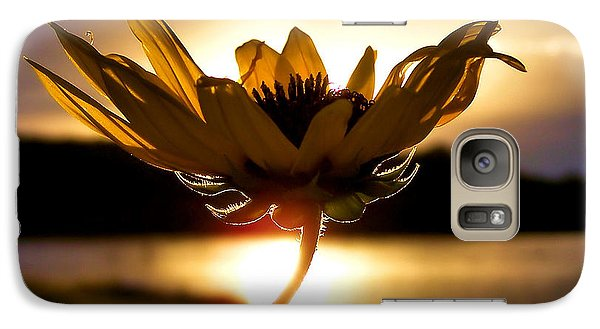 Sunflower Galaxy S7 Case - Uplifting by Karen Scovill