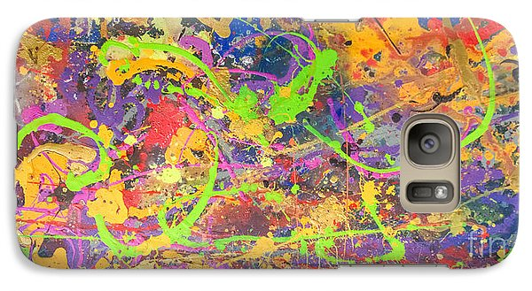 Galaxy Case featuring the painting Upon Awakening by Robert Anderson