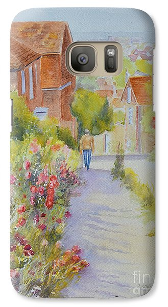 Upper Church Hill 2015 Hythe Galaxy S7 Case by Beatrice Cloake