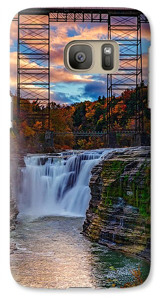 Upper Falls Letchworth State Park Galaxy S7 Case